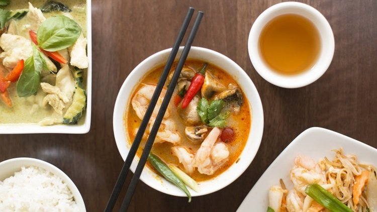 The Most Colourful Thai Curries in Dublin
